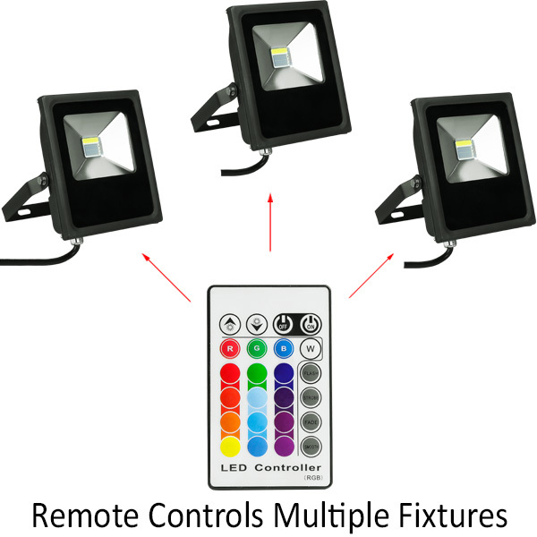RGBW LED Flood Fixture - 20 Watt Image