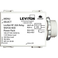 20A Wireless Relay Module - Line Voltage - 120-277 Volt - Leviton WSP20-9D0