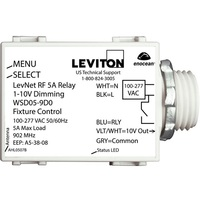 5A Wireless Dimming Module - Operates 1-10V Fluorescent Ballasts or LED Drivers - 120-277 Volt - Leviton WSD05-9D0