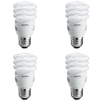 13 Watt - CFL - 60W Equal - 2700K Warm White - 4 Pack