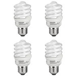 13 Watt - CFL - 60W Equal - 6500K Full Spectrum Daylight - 4 Pack Image