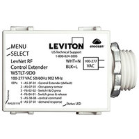 Wireless Control Transmitter - For use with LevNet RF Devices - 120-277 Volt - Leviton WSTLT-9D0
