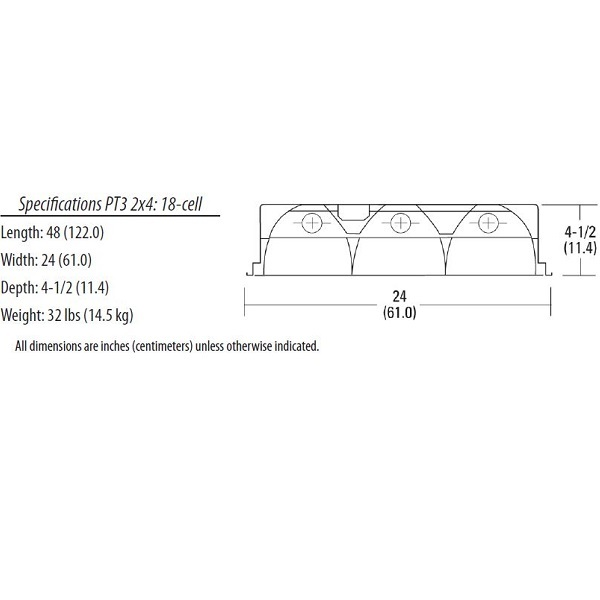 3 Lamp 4 ft 32 W Parabolic Recessed Fluorescent – Lithonia T8 Lighting Wiring Diagram 110 277