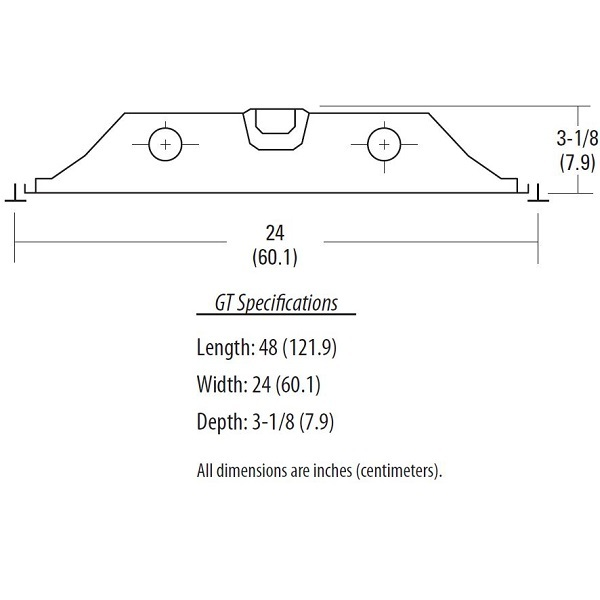 Lithonia GT3 MV - Recessed Fluorescent Fixture Image