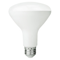 650 Lumens - 2700 Kelvin - Soft White - LED BR30 - 9 Watt - 65W Equal - Dimmable - 120V - Bulbrite 860395