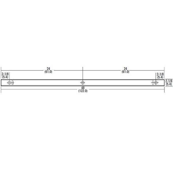 Lithonia ZL1N L48 3000LM FST - LED Strip Fixture Image