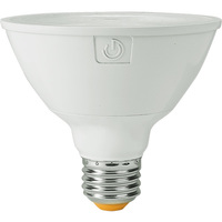 LED PAR30 Short Neck - 13 Watt - 75 Watt Equal - Halogen Match - Color Corrected - CRI 90 - 1050 Lumens - 3000 Kelvin - 40 Deg. Flood - Green Creative 58145