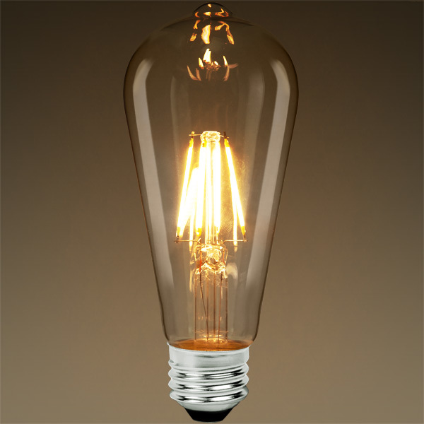 LED Edison Bulb - Vertical Filament - 6.5 Watt Image