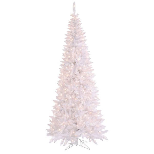 4.5 ft. x 24 in. White Christmas Tree Image