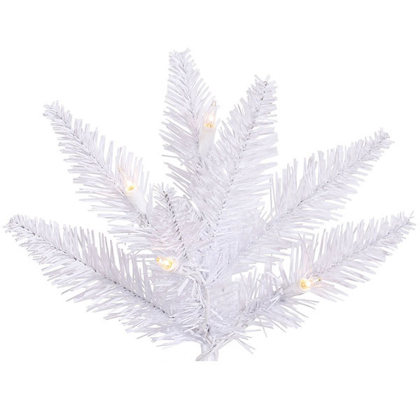 7.5 ft. x 52 in. White Christmas Tree Image