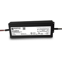 LED Driver - Operates 0-50 Watts - Dimmable - Input 120-277V - Works With 12V Output Constant Voltage Products Only