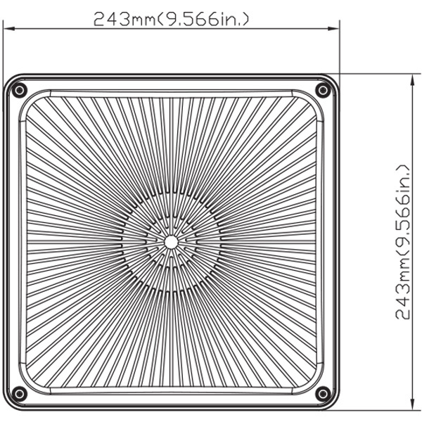 LED - Canopy Light - 65 Watt - 175 Watt MH Equal Image