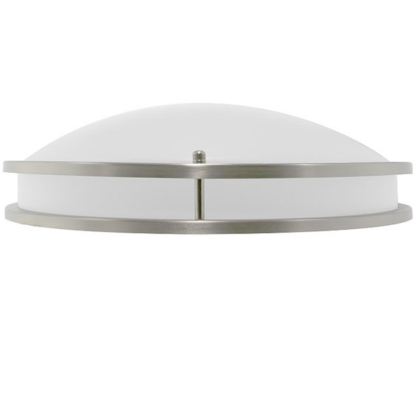 14 in. Dia. LED Flush Mount Ceiling Fixture - Halogen White Image