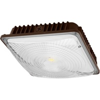 6600 Lumens - LED - Canopy Light - 65 Watt - 175 Watt Metal Halide Equal - 5000 Kelvin - 120-277V - PLT CP65W27V50KD