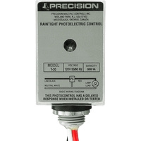 SPST Photocell - Stem Mounting - LED Compatible - 120 Volt - Precision Multiple T-30