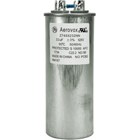 525VAC - Oil Filled Capacitor for HID Lighting - 32uf - Metal Round Case - Aerovox Z74S5232NN