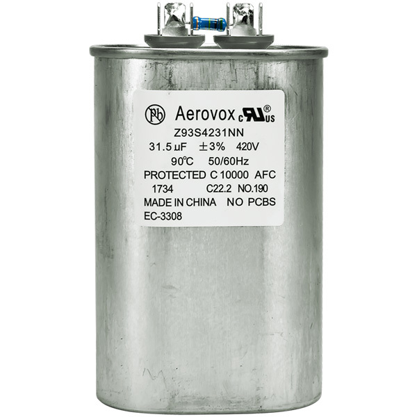 420VAC - Oil Filled Capacitor for HID Lighting Image