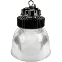 26,400 Lumens - LED High Bay - 5000 Kelvin - Height 19.7 in. x Diameter 16.1 in. - Clear Prismatic Reflector - 120-277V - PLT /E6312