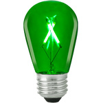 Green - 1 Watt - LED - S14 Image