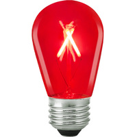 Red - 1 Watt - LED - S14 - 120 Volt
