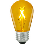 Yellow - 1 Watt - LED - S14 Image