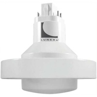 LED PL -  4 Pin G24q or GX24q Base - 30 Watt - 3500 Lumens - 2700 Kelvin Replaces 32-42W CFL - Ballast Bypass - 120-277 Volt - Lunera HN-PLVH-G24Q-L-30W-827