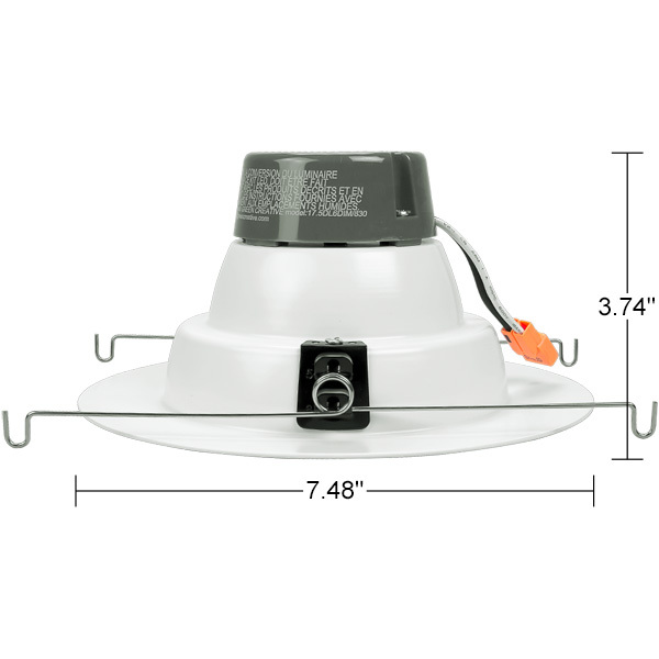 5-6 in. Retrofit LED Downlight - 17W Image