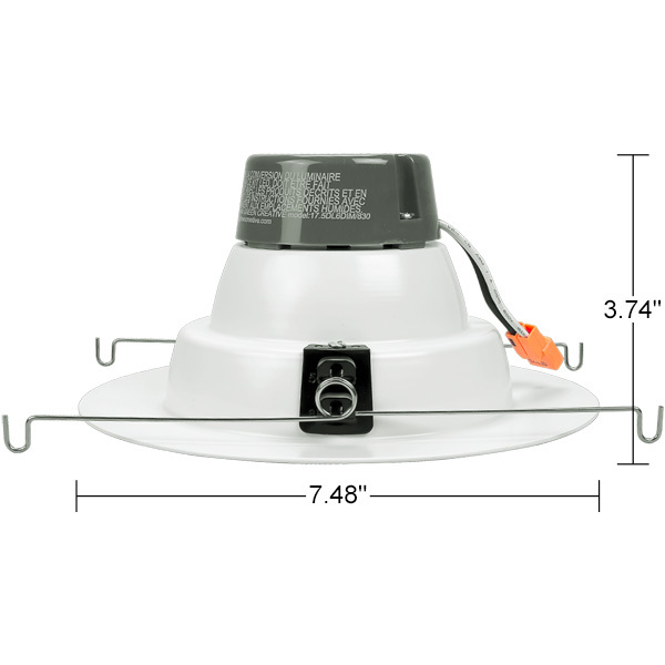 5-6 in. Retrofit LED Downlight - 12W - 90 CRI Image