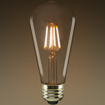 LED Edison Bulb - Vertical Filament - 5 Watt Image