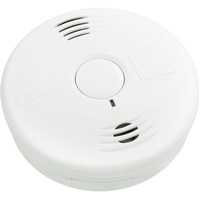 Kidde 21010067 - Smoke Alarm - Photoelectric Sensor - Detects Smoldering Fires - Voice Message Warning - Battery Operated - Sealed Lithium 10 Year Battery