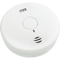 Smoke Alarm - Detects Smoldering Fires - Photoelectric Sensor - Battery Operated - Sealed Lithium 10 Year Battery - Safety LED Light - Kidde 21010069