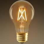 LED Victorian Bulb - Color Matched For Incandescent Replacement Image