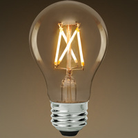 LED Victorian Bulb - Clear - 4.5 Watt - 40W Equal - 450 Lumens - 2700 Kelvin - CRI 80 - Green Creative 57971