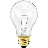 50 Watt - A19 - Clear - 2,500 Life Hours - 12 Volt
