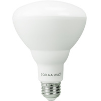 Soraa Vivid - LED BR30 - 750 Lumens - 3000 Kelvin - 11.5 Watt - 65W Equal - Natural Color Corrected Light