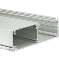 6.56 ft. Anodized Aluminum KIDES Channel - For LED Tape Light and Strip Light - Lens Sold Separately - Klus 18031ANODA_2