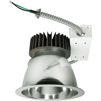 3600 Lumens - 8 in. Retrofit LED Downlight - 40W - 175W Equal - 3000 Kelvin - Smooth Baffle Trim - Dimmable - 120-277V - PLT 91449