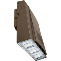 9000 Lumens - LED Wall Pack - 75 Watt - 320W MH Equal - 5000 Kelvin Daylight - 120-277V - PLT 83368