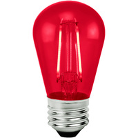 Red - 2 Watt - LED - S14 - 120 Volt