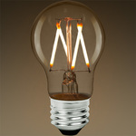 LED Victorian Bulb - Vertical Filament - 5 Watt - 450 Lumens - 40 Watt Equal - 2700 Kelvin - Clear