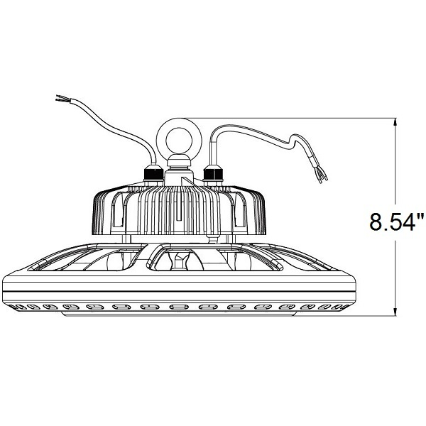32,600 Lumens - LED High Bay - 240 Watt Image