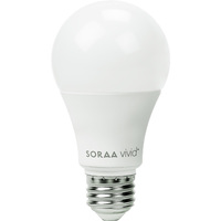 800 Lumens - 11 Watt - 60W Incandescent Equal - LED - A19 - 2700 Kelvin - 95 CRI - Perfect Spectrum Color Accuracy - Soraa SA19-11-OMNI-927-01