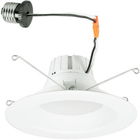 1200 Lumens - 5-6 in. Retrofit LED Downlight - 13W - 85W Equal - 4000 Kelvin - Smooth Baffle Trim - Dimmable - 120V - StonePoint DL-1200D