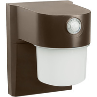 9 Watt - LED Security Light with Motion Sensor - 4000K Cool White - 120 Volt - Bronze Finish - StonePoint JJ700MB