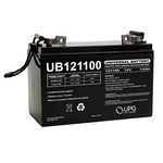 12 Volt - 110 Ah - UB121100 (Group 30H) - AGM Battery Image