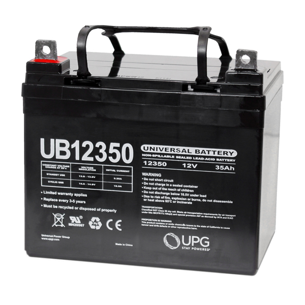 12 Volt - 35 Ah - UB12350 (Group U1) - AGM Battery Image
