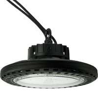 13,500 Lumens - LED High Bay - 5000 Kelvin - Height 7.44 in. x Diameter 10.94 in. - Clear Reflector  - 120-277V - PLTS51111