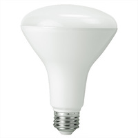 1050 Lumens - 3000 Kelvin Halogen White - LED BR40 - 12 Watt - 80W Equal - Dimmable - 120V - PLTL85112