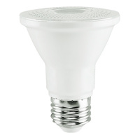 500 Lumens - 2700 Kelvin - LED - PAR20 - 7 Watt - 50W Equal - 40 Deg. Flood - CRI 80