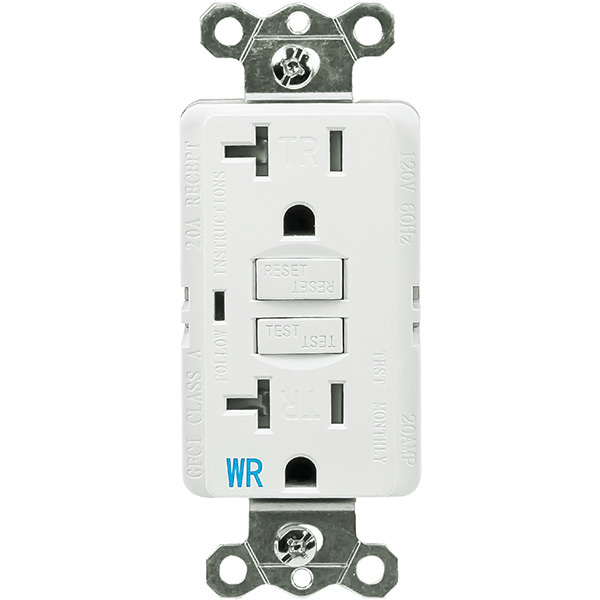 GFCI Outlet - 20 Amp - General Protecht GPG620-WTR-W